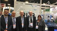 Representatives from ShipServ and IB's InfoSHIP at Seatrade Cruise Global, Fort Lauderdale (Photo: ShipServ)