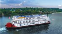 Artist rendering of American Duchess, the company's latest riverboat (Image: American Queen Steamboat Company)
