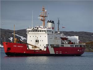 The Canadian Coast Guard's vessel Ann Harvey will be equipped with new propulsion generators, which will contribute to the vessel's reliability for many years to come. (Photo: Wärtsilä)