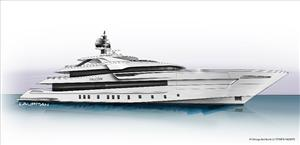 Sketch of Project Falcon (Photo: Heesen)